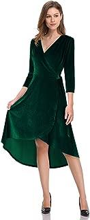green velvet dress long sleeve