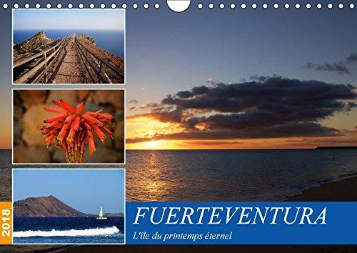 Fuerteventura, l\'île du printemps éternel (Calendrier mural 2018 DIN A4 horizontal): Découvrez l\'île du printemps éternel : Fuerteventura (Calendrier ... Card-Photo: DECOUVREZ L LE DU PRINTEMPS ET