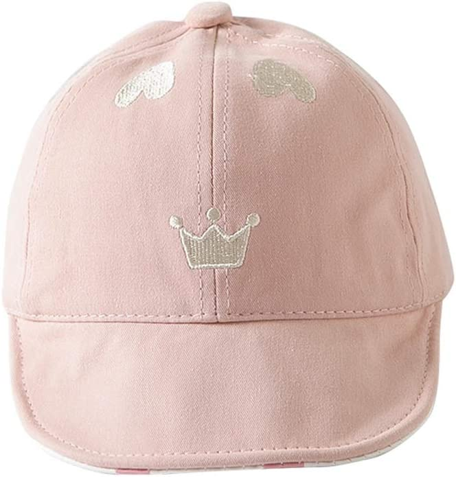 Spring and Autumn Baby Hat GYZ Childrens Sun Hat Summer Thin Baseball Cap Child hat Sun Protection Sun Hat Color : White