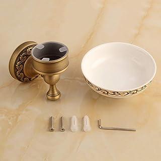 Copper soap Dish soap Box Antique Ashtray Bathroom Shelf Rack European Retro soap Dish Soap Saver Box Case for Bathroom