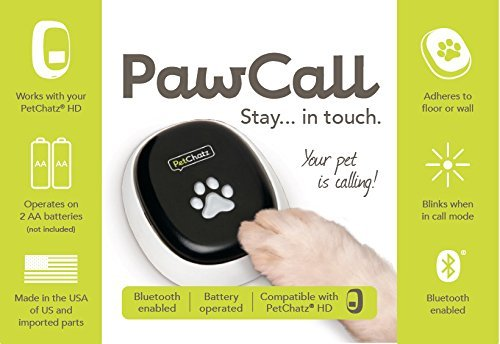 PetChatz HD and PawCall: Digital Daycare with two-way premium audio/HD video pet treat camera w/DOGTV, sound/motion triggered video recording, calming aromatherapy (as seen on The Today Show)