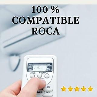 Roca - Mando Aire Acondicionado Roca - Mando a Distancia Compatible 100% con Aire Acondicionado Roca. Entrega en 24-48 Horas. Roca MANDO COMPATIBLE.