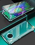 KumWum Mate 30 Pro Case Magnetic Adsorption and Aluminum