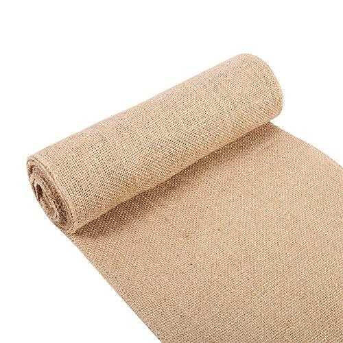 Tela arpillera para tapicería Estilo de la Naturaleza de la Vendimia, Arpillera de la Tela de Lino, arpillera para la decoración de hogar (30cm*5m)
