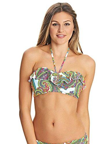 Freya New Wave Underwire Bandeau Bikini Top in Multi (AS4042) *Sizes C-G*