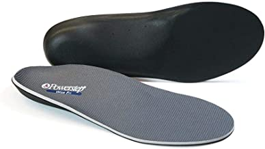 Arch Support Wide Fit Shoe Orthotic Inserts for Women and Men by Powerstep