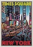 StickIt2Me Times Square New York Art Deco Retro