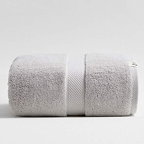 01 02 015 Toalla de baño de algodón extra grande, 800 g, muy absorbente, multiusos, secado...