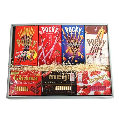 おかしのマーチ ポッキー & チョコレートギフトセット A (7種・計14コ)