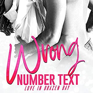 Wrong Number Text  audiobook cover art