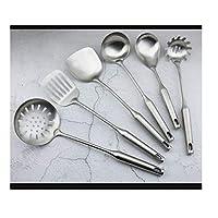 ステンレススパチュラセット、家庭用キッチン用品クラスラ、スパチュラを厚くしたスパチュラセット、ゆで、調理など(6個セット)