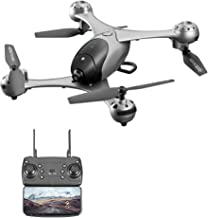 FAITHPRO M6 2.4G FPV Drone with WiFi 4K HD Camera Live Video, Optical Flow RC Quadcopter with Brushless Motors Follow Me Mode, 110°Wide Angle Altitude Hold for Adults and Beginners