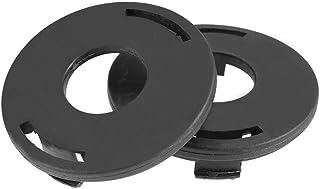 TOPINCN 2 Unids Trimmer Head Carretes Tapa Tapa Reemplazo para 25-2 FS 44 55 80 83 85 90 100 110 120 130 Accesorio Cortacésped
