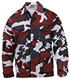 Rothco Color BDU Shirt, Red Camo, Large