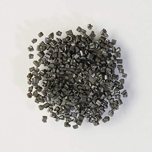 Günthart Streudekor, Glitzer-Zucker, schwarz, 1er Pack (1 x 700 g)