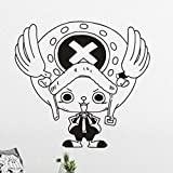 JXFM 72x67cm DIY tamaño y Color Personalizados Pegatinas de Pared Creativas Pegatinas de Pared habitación de los niños Anime japonés Cuchillo de Cocina decoración del hogar Pegatinas de Pared Sal
