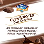 Health Shopping Blue Diamond Almonds, Oven Roasted Cocoa Dusted Almonds, 100 Calorie Packs, 32 Count