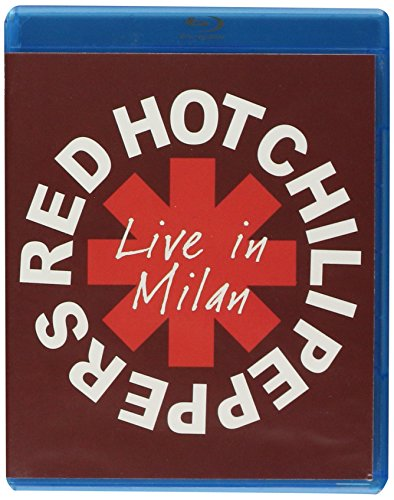 """RED HOT CHILI PEPPERS """"LIVE IN MILAN"""" [BLU-RAY].ENGLISH AUDIO AND ENGL"""