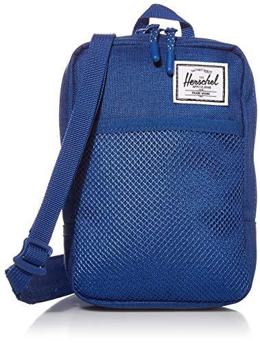 Herschel supply Sinclair Grand sac à bandoulière unisexe, Monaco Blue Crosshatch (Bleu) - 10567-03262-OS