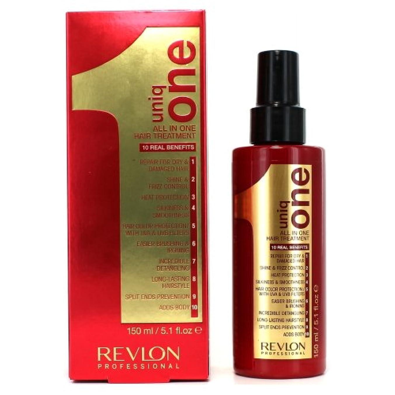 クライマックスチューリップ程度(6 Pack) REVLON Uniq One All In One Hair Treatment - Regular (並行輸入品)