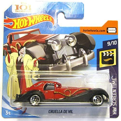 Hot Wheels FJW04 - Cruella de Vil 101 Dalmatiner (HW Screen Time 9/10)