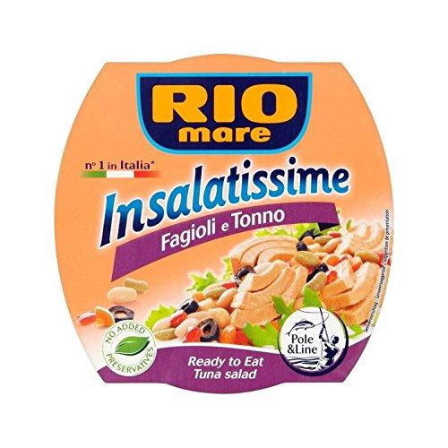 Rio Mare Bohnen Und Thunfisch-Salat 160G - Packung mit 6
