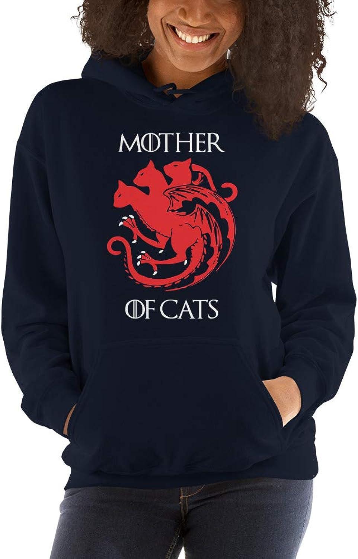 Atledpro Mother of Cats  Gildan 18500 Unisex Heavy Blend Hooded Sweatshirt