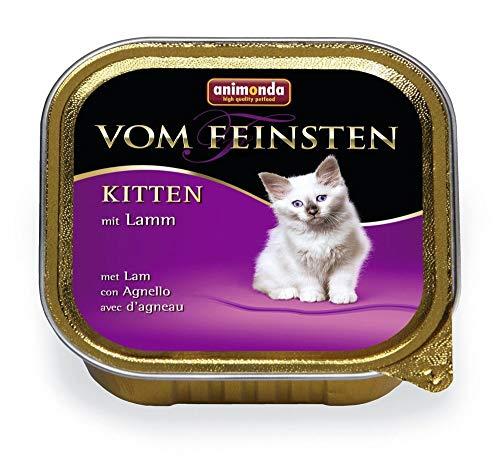 animonda Vom Feinsten Kitten Lamm 100g Katzennassfutter
