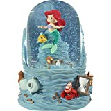 Precious Moments 201114 Disney Showcase The Little Mermaid Sea Treasures Ariel Resin/Glass Musical Snow Globe Waterball, One Size, Multicolored