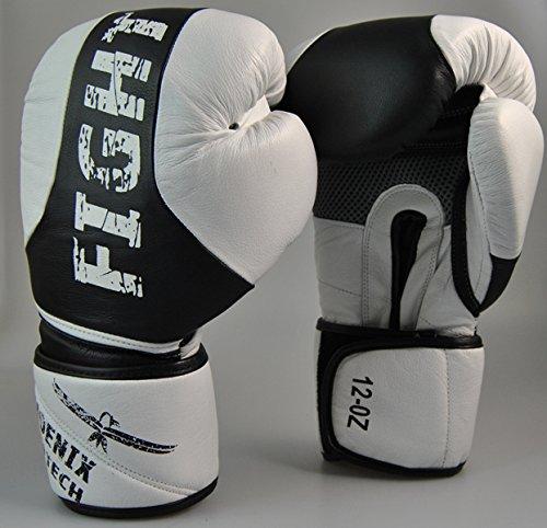Leder-Boxhandschuh ProTech Fight 10 Oz...