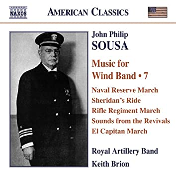 Sousa, J.P.: Music for Wind Band, Vol. 7