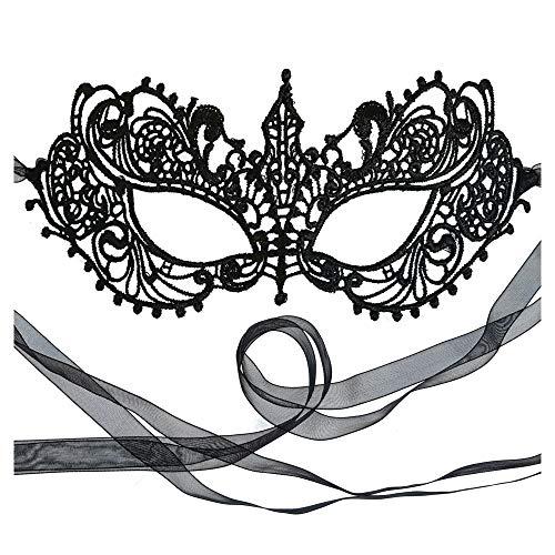 Samantha Peach Venezianische faschingsmasken Maskerade maskenball Spitz maske damen - Göttin