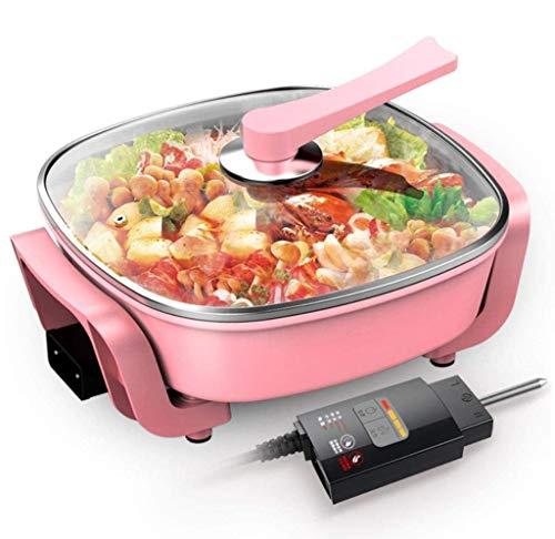 Raclette Grill, Antihaft-Multifunktionspfanne | Ideal für gebratene oder rührei | Rutschfeste Füße und cooler Touch-Griff | 1750W | Legierung