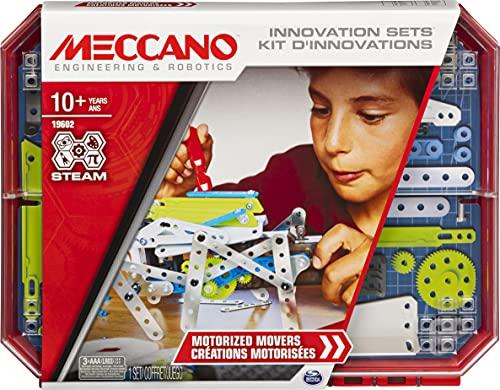 Meccano Inventor Set Creazioni con Motore, Kit di Costruzione S.T.E.A.M. dai 10 Anni