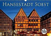 Hansestadt Soest (Wandkalender 2022 DIN A3 quer): Soest - die alte Hansestadt erwartet Sie mit ueber 600 Baudenkmaelern umgeben von einer noch zu drei Vierteln erhaltenen Stadtmauer (Geburtstagskalender, 14 Seiten )