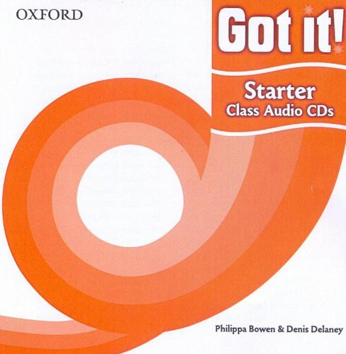 Got it!: Starter Level: Class Audio CDs: A four-level American English course for teenage learners