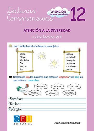 Lecturas comprensivas 12 / Editorial GEU / 3º Primaria / Mejora la comprensión lectora / Recomendado como apoyo / Actividades sencillas