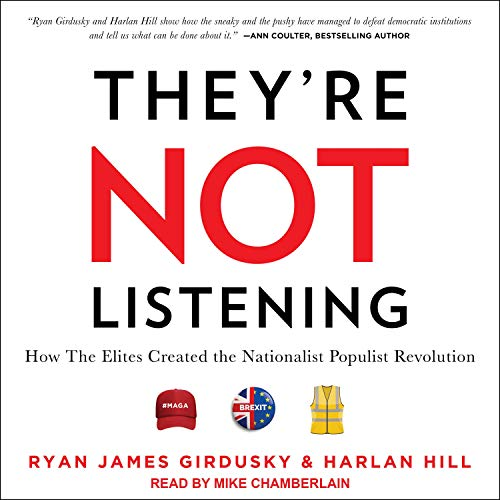 They're Not Listening audiobook cover art