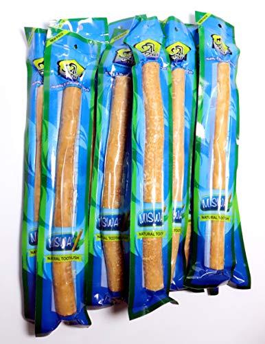 Natural Spa Supplies Miswak - Cepillo de dientes grueso (10 piezas)