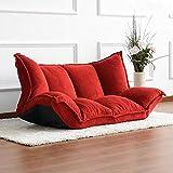 lihangxiaohang Paresseux canapé Tatami Simple Couche canapé-lit Amovible Lavable Chaise Pliante Couleur Loisirs Chambre Yang-Style 5