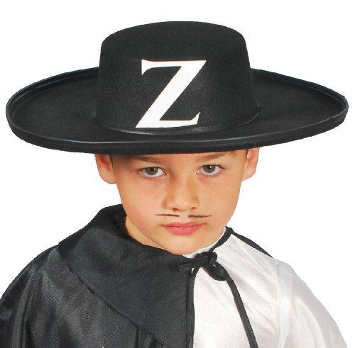 GUI - Chapeau - de Justicier Masqué en Feutre Enfant