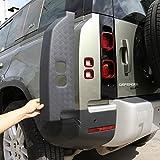 YIWANG ABS Black Car Exterior Taillight...