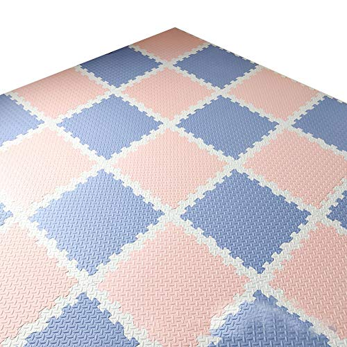 Read About MAHFEI Foam Interlocking Floor Mats Puzzle Pad Gym Living Room Floor Protection Baby Craw...