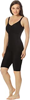 Marena Women's 1st Stage Compression Bodysuit with Bra and Thigh-Length Legs