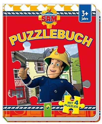 Puzzlebuch Feuerwehrmann Sam: Mit 4 Puzzles