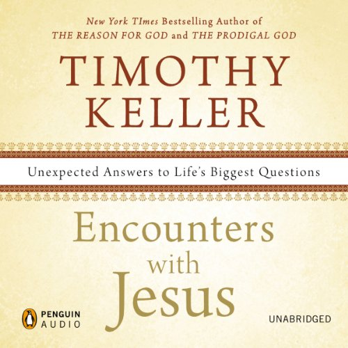 Encounters with Jesus audiobook cover art