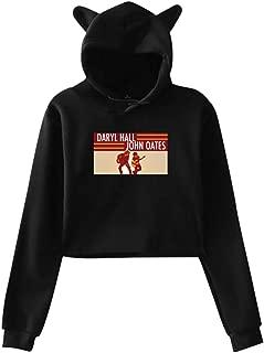 Daryl Hall John Oates Popular Cat Ear Hoodie Sweater Women's Sweatshirt Hooded