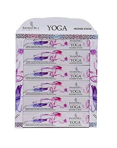 Varillas de incienso GJ Boon Premium para yoga. Ingredientes veganos naturales. Hecho a mano sin inmersión química.
