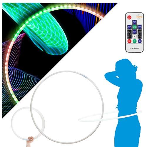 Echo Glow - 84 LED Remote Control Glow Hula Hoop - 95cm