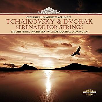 Tchaikovsky & Dvořák: Orchestral Favourites, Vol. IX